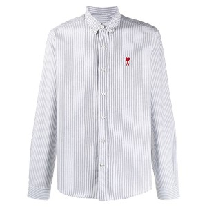 Ami Paris Button-down Ami Heart Shirt - ホワイト