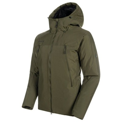 MAMMUT(マムート) Crater SO Thermo Hooded Jacket AF Men's L 4584(iguana) 1011-00780