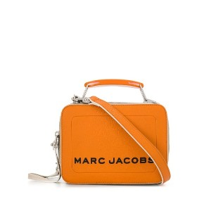 Marc Jacobs ロゴ ボックスバッグ - オレンジ