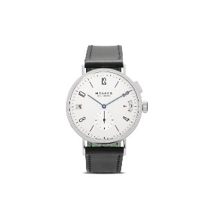 NOMOS Glashütte タンゴマット GMT 40mm - White, silver-plated