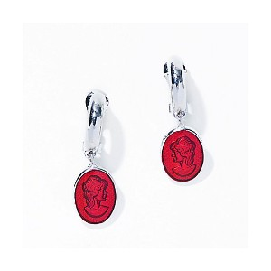 IRIS47  cameo earring red【三越・伊勢丹/公式】 アクセサリー~~その他
