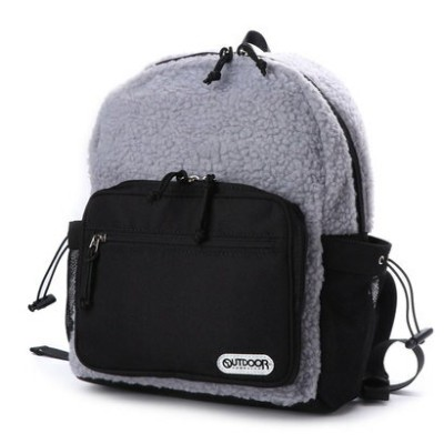 【OUTDOOR PRODUCTS】ボアデイパック (グレー)