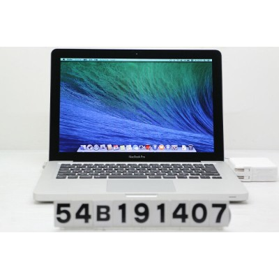 Apple MacBook Pro A1278 Mid 2012 Core i5 3210M 2.5GHz/8GB/500GB/Multi/13.3W/WXGA(1280x800)【中古】...