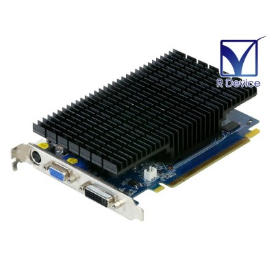 SPARKLE GeForce 8500 GT 256MB TV-out/VGA/DVI PCI Express x16 SFPX85GTD1D1T256HH【中古】