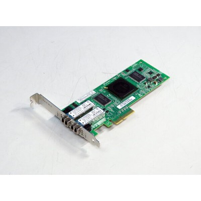 0DH226 DELL 4Gbps FibreChannel ホストバスアダプタ Dual-Port PCI Express x4 QLogic PX2510401-61 E【中古】