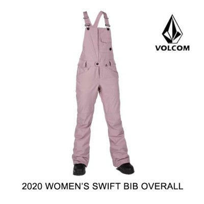 2020 VOLCOM ボルコム パンツ WOMEN'S SWIFT BIB OVERALL PURPLE HAZE