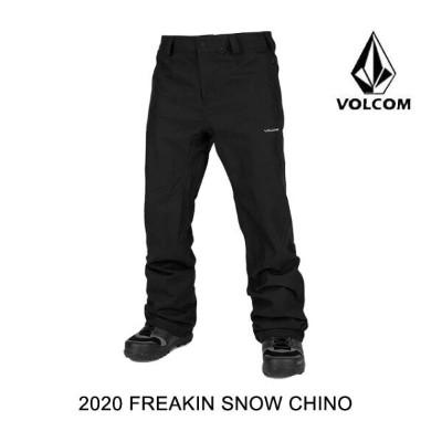 2020 VOLCOM ボルコム パンツ FREAKIN SNOW CHINO PANT BLACK