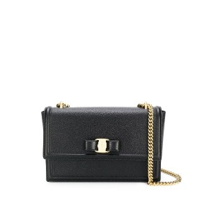 Salvatore Ferragamo Ginny shoulder bag - ブラック