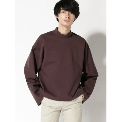 【SALE/40%OFF】MAISON SPECIAL (M)CompactStretchTerry オーバーサイズP.O メゾンスペシャル カットソー スウェット パープル ブラック オレンジ...