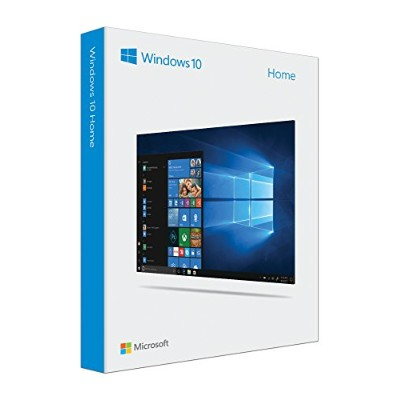 Microsoft Windows 10 Home | 32/64 Bit English version | 1 PC/1 License | USB Flash Drive Bundle