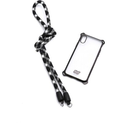 BEAMS MEN Extended Photographic Material / YOSEMITE MOBILE STRAP for iPhone X/XS ストラップ付き iPhone ケース...