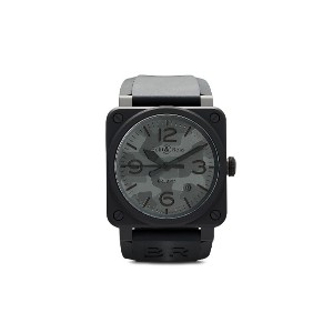 Bell & Ross BR 03-92 ブラックマット 42mm - BLACK AND GREY