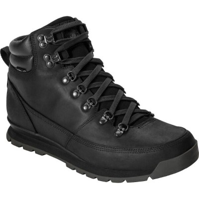 ザ ノースフェイス The North Face メンズ ブーツ シューズ・靴【Back - To - Berkeley Redux Leather Boot】Tnf Black/Tnf Black...