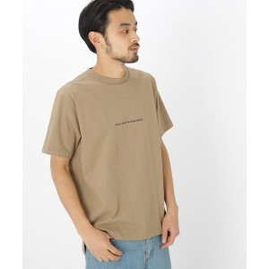 【BASE CONTROL(ベースコントロール)】 反転 ロゴ プリント 半袖 Tシャツ OUTLET > BASE CONTROL > トップス > Tシャツ ベージュ
