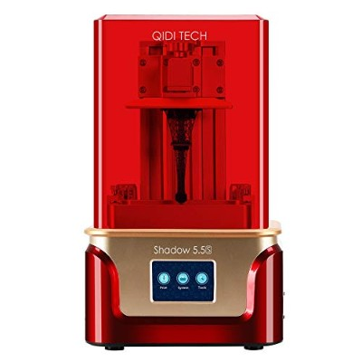 QIDI TECH Shadow 5.5 S 3D Printer, UV LCD Resin Printer with Dual Z axis Liner Rail, 3.5 Inch Touch...