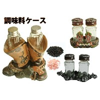30%OFF western Boots spice set ウエスタンブーツ調味料入れ/乗馬ギフト