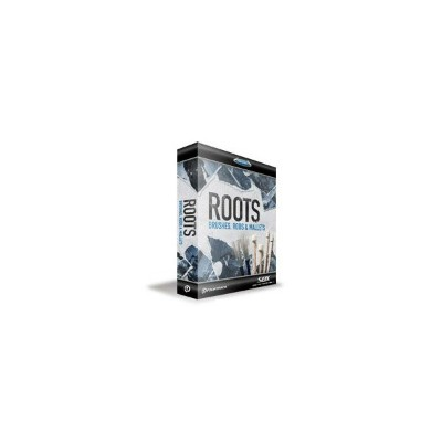 TOONTRACK SDX ROOTS - BRUSHES, RODS & MALLETS / BOX 【トゥーントラック SDXRBRM】