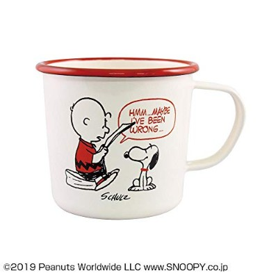 PEANUTS SNOOPY(スヌーピー) 琺瑯マグカップ RED・レッド PD-1800 【人気 おすすめ 通販パーク ギフト プレゼント】