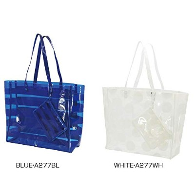 VINYL TOTE & POUCH BLUE・A277BL 【人気 おすすめ 通販パーク ギフト プレゼント】