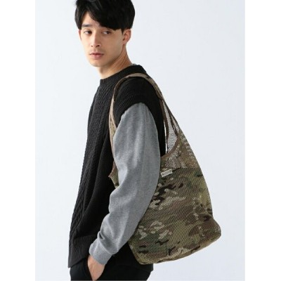 [Rakuten Fashion]WILDERNESS EXPERIENCE / MIL-SPEC メッシュ トートバッグ BEAMS ビームス B:MING by BEAMS ビーミング...