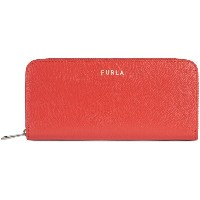 レディース FURLA FURLA NEXT XL ZIP AROUND SLIM 財布  コーラル
