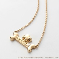 star★d'or Joyful star SLVペンダント dog bone[SNOOPY/PEANUTS]