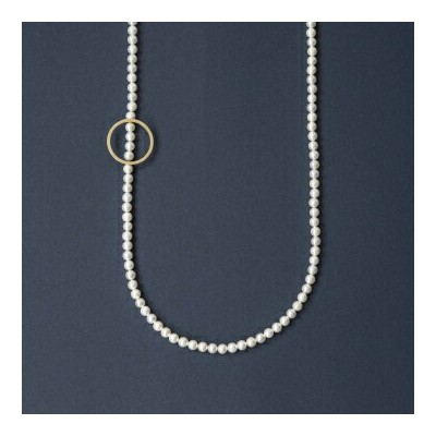 januka/ATTACHMENT NECKLACE CIRCLE S(ネックレス・ペンダント)【あす楽対応】