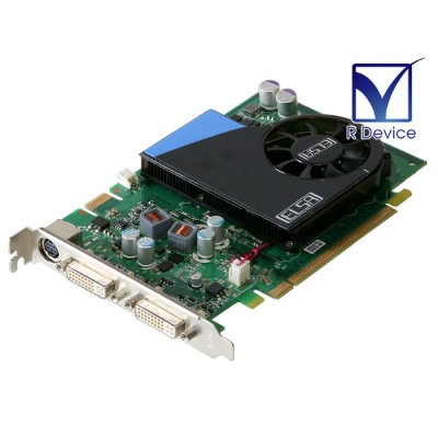 ELSA GeForce 9500 GT 256MB DVI-I *2/HDTV PCI Express 2.0 x16 GD795-256EBGT【中古】