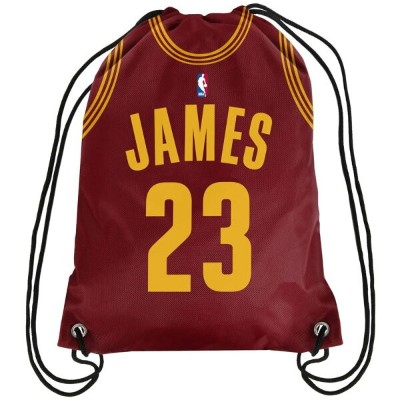 NBA レブロン・ジェームス Clevland Cavaliers ナップサック バックパック Forever Collectibles