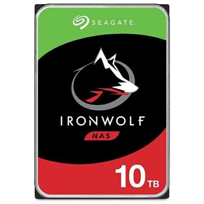 SEAGATE シーゲート ST10000VN0008 内蔵HDD IronWolf NAS用 [3.5インチ /10TB]