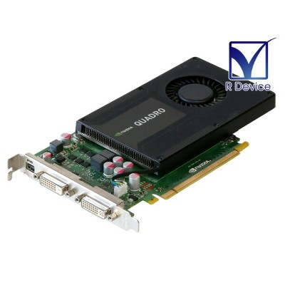 ELSA Quadro 2000D 2GB DualLink DVI *2/mini Display Port PCI Express 2.0 x16 EQK2000-2GEBD【中古】