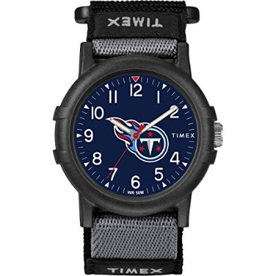 NFL Tribute Collection Recruite ユース Timex 腕時計 - テネシー タイタンズ
