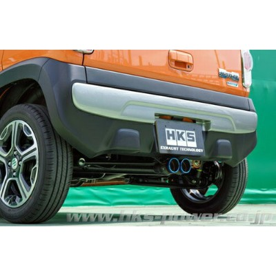 HKS Cool Style スズキ ハスラー NA車 2WD MR31S用 (31028-AS004)【JQR認定品】【マフラー】エッチケーエス クールスタイル
