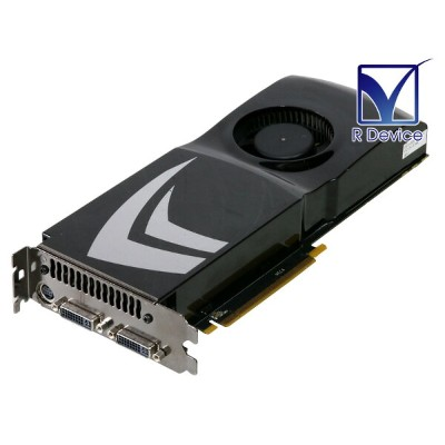 NVIDIA Corporation GeForce 9800 GTX 512MB DVI *2/TV-out PCI Express 2.0 x16 P/N:600-10392【中古】