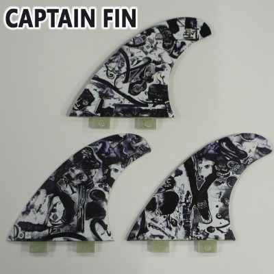 CAPTAIN FIN/キャプテンフィン CHEMISTRY PASER LARGE TT TRI FIN FCS/FCS2/エフシーエス トライフィン 3本セット サーフボード用フィン 送料無料...