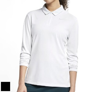 Nike Ladies Dri-FIT Long-Sleeve Golf Polo【ゴルフ レディース>トップス】