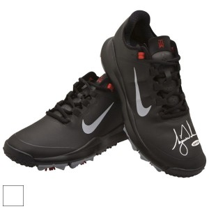 Tiger Woods Autographed Nike Golf Shoes【ゴルフ ゴルフシューズ>スパイク】