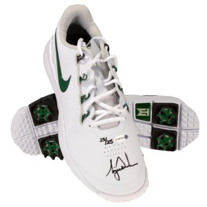 Tiger Woods Autographed Nike TW 14 Golf Shoes【ゴルフ ゴルフシューズ>スパイク】
