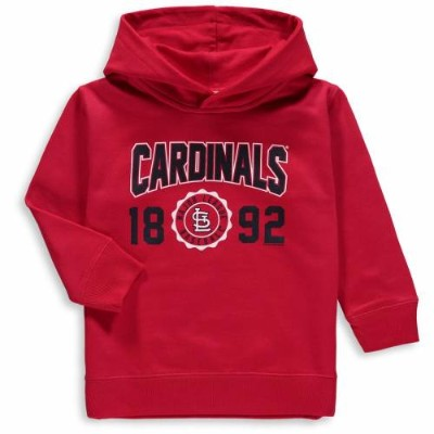 SOFT AS A GRAPE カーディナルス ベビー 赤ちゃん用 フリース ST. 【 LOUIS CARDINALS TODDLER FLEECE PULLOVER HOODIE RED 】...