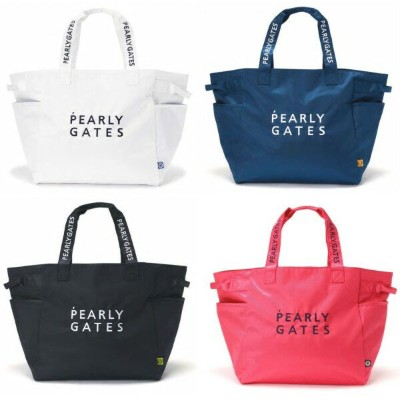 【NEW】PEARLY GATES パーリーゲイツNEW BASIC ITEMS DEBUT!2段ロゴ 定番系BIGトートバッグ シューズIN!053-0981201/20AF