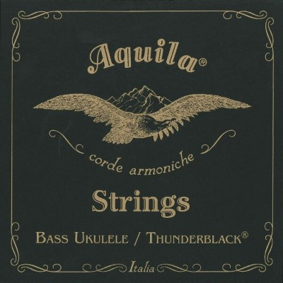 Aquila 'Thunder Black' Bass Ukulele Strings AQ-BUB 140U 4弦ベースウクレレ用