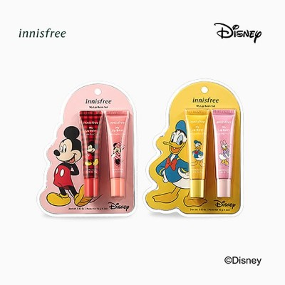 innisfree(イニスフリー)■マイリップバーム セット Disney Limited Edition - Mickey Mouse & Minnie Mouse- Donald Duck &...