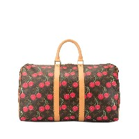 Louis Vuitton Louis Vuitton x Takashi Murakami 2005 Keepall 45 Cherry