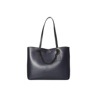 コーチ COACH レディース トートバッグ バッグ【Signature Chain Convertible Tote】Midnight Navy/Pewter