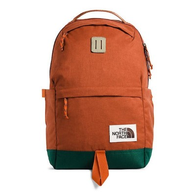 (取寄)ノースフェイス デイパック The North Face Daypack Picante Red Dark Heather / Night Green