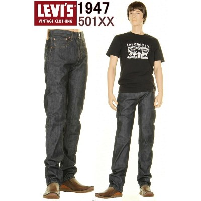 LEVI'S 1947年 47501-0200 リーバイス ヴィンテージ クロージング 501xx LEVIS VINTAGE CLOTHING JEANS 日本製生地【新型 送料無料 501 XX...