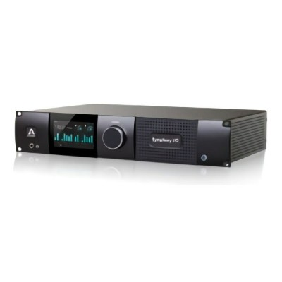 Apogee Symphony I/O MKII Thunderbolt Chassis with 16 Analog In + 16 Analog Out+8 Analog In + 8...