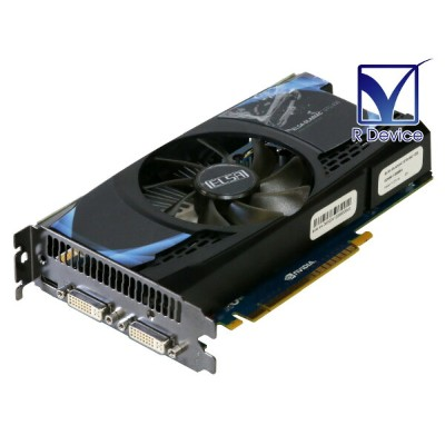 ELSA GeForce GTS 450 1GB DVI-I *2/Mini-HDMI PCI Express 2.0 x16 GD450-1GEBSA ES品【中古】