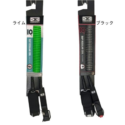 サップ リーシュコード オーシャンアンドアース OCEAN&EARTH Regular SUP Longboard Knee Coil Moulded Leash 10ft