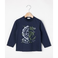 【3can4on(Kids)(サンカンシオン(キッズ))】 【100-160cm】アメカジテイストプリントプルオーバー OUTLET > 3can4on(Kids) > トップス > Tシャツ...